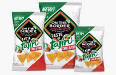 Piquant Seasoning Snack Chips - The On The Border Taste of Tajín Clásico Tortilla Chips are Zesty