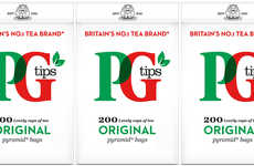 Biodegradable Tea Packaging - The PG Tips Tea Brand is Making Tea Bags from Plant-Based Material