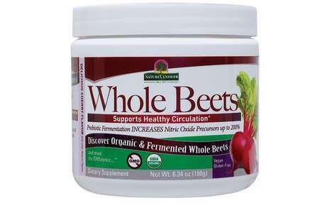 Fermented Beet Supplements