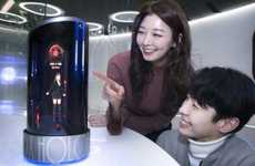 Holographic Virtual Assistants - SK Telecom's 'Wendy' Virtual Assistant Appears in a Human Form