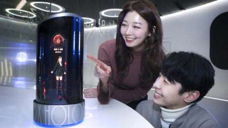Holographic Virtual Assistants