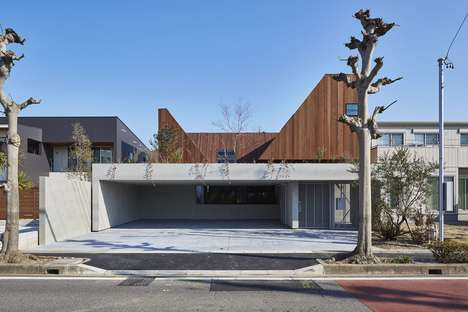 Tree-Framing Courtyards