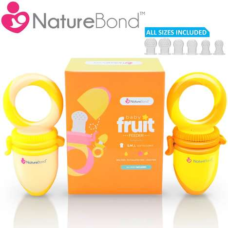 Multifunctional Baby Food Feeders - Naturebond's Unique Accessories are Both Functional and Playful