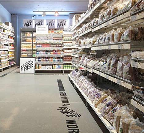 Plastic-Free Supermarket Aisles