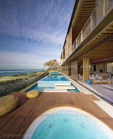 Landscape-Inspired Beach Houses