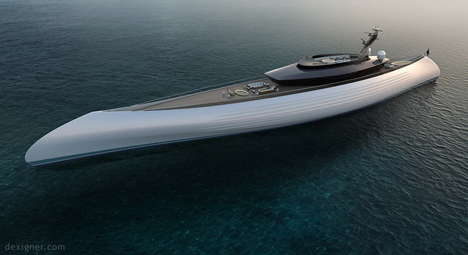 Oceanco's Tuhura Yacht Pulls Design Inspiration from Early Canoes