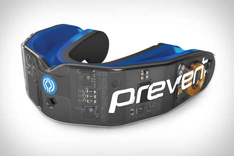 Health-Tracking Mouthguards - The Prevent Smart Mouthguard Tracks How Intensely You're Performing