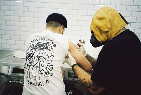 Benibla Collaborated with Legendary Graffiti Artist FUZI on a New Line