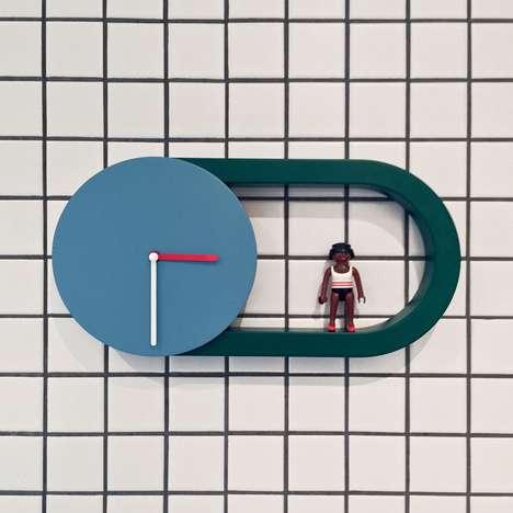 Design-Friendly Abstract Clocks