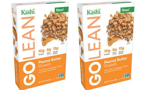 Nutty Plant Protein Cereals