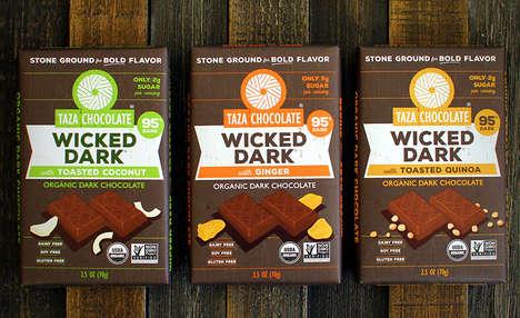 Low-Sugar Dark Chocolate Treats