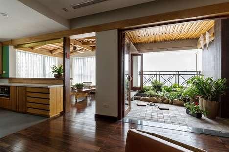 Bright Musical Apartment Designs