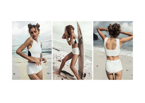 Elegant Free-Spirited Swimwear