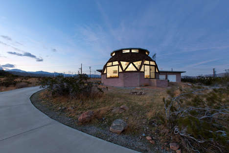 Renovated Dome-Shaped Homes
