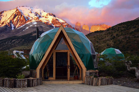 Top 25 Eco Architecture Ideas in March - From Sustainable Camping Domes to Shipping Container Hotels