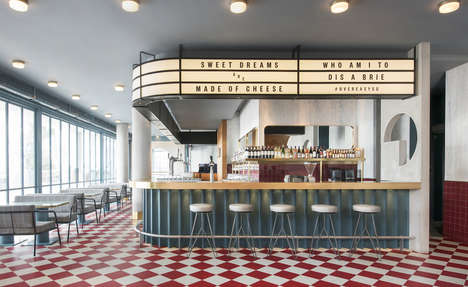 Classic American Diner Redesigns - The Overeasy Diner in Singapore Underwent an Extensive Renovation