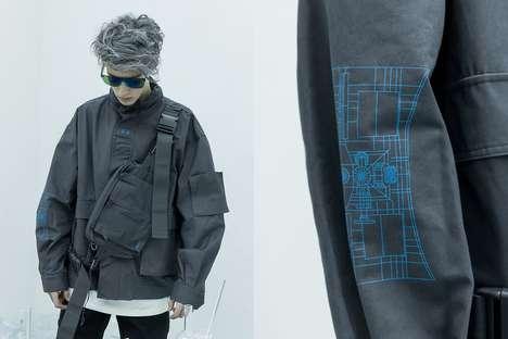 Futuristic Space Fashion