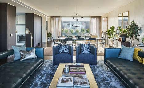 British Craft-Inspired Penthouses