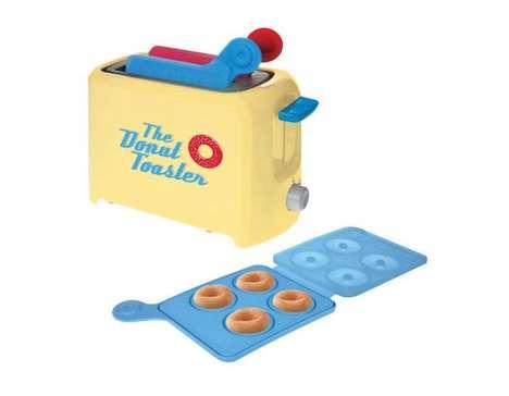 Donut-Baking Toaster Appliances