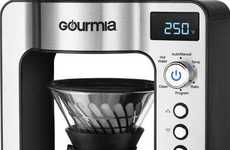 Automated Pour-Over Coffee Makers - The Gourmia GCMW3375 Works with Amazon Alexa and More