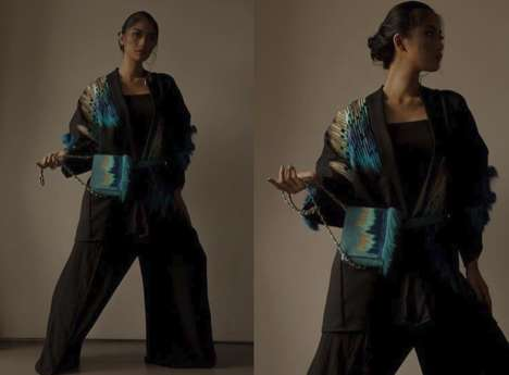 Peacock Fashion Motifs