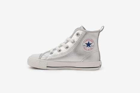 Metallic Kid's Running Shoes