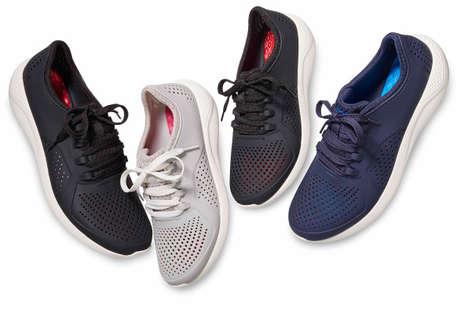 Lightweight Shock-Absorbing Footwear