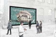 Edible Burger Billboards - Deliveroo Will Be Making a Food Billboard of Meat and Veggie Burgers