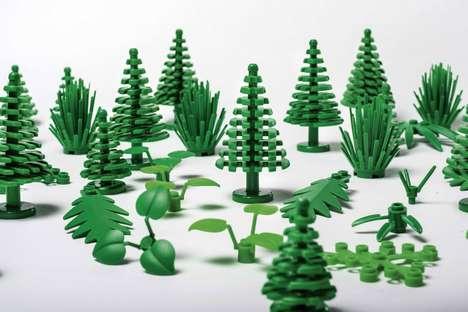 Bioplastic Toy Bricks