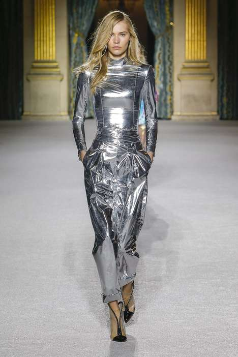 Shiny Sci-Fi Fashion Collections