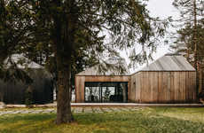 Estonian Angular Roof Houses