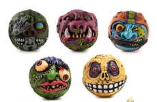 Monstrous Squish Toys - The Madballs x Kidrobot Collection Features Balls Shaped Like Monster Heads