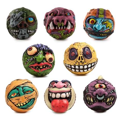 Monstrous Squish Toys