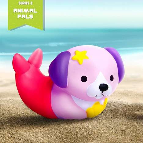 Soft'n Slo Squishies are Collectible Toys with Varying Designs
