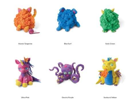 Shape-Shifting Plush Toys