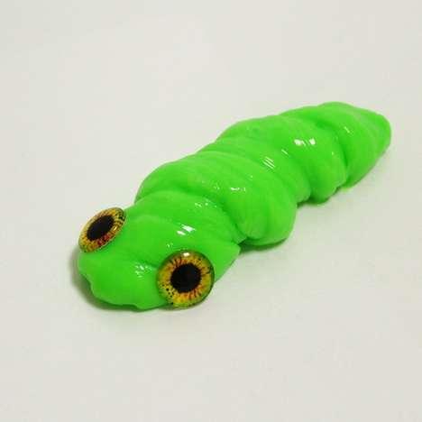Green Phosphorescent Putties