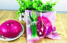 Squishy Onion-Scented Toys - This Onion Squishy Toy Relieves Stress and Releases Scents