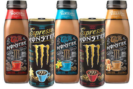 Cafe-Inspired Energy Drinks