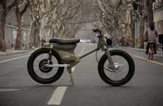 Striking Electric Motorcycles