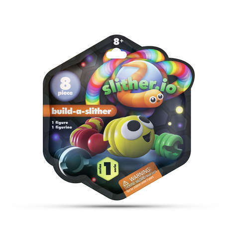 App-Inspired Worm Toys