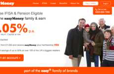 Approachable Investing Platforms - 'easyMoney' from easyJet Appeals to the Everyday Investor
