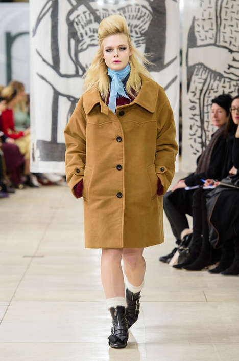 The Miu Miu Fall 2018 Collection Embodies a Decade from Head-to-Toe