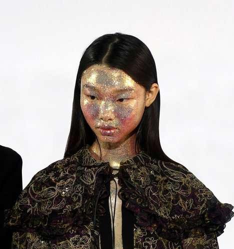 Glitter Mask Runway Presentations