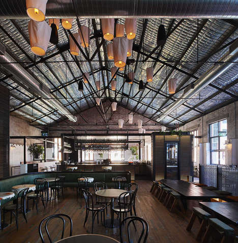 Rustic Renovated Thai Restaurants