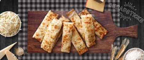 Frozen Pizza Breadsticks