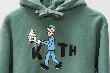 Colorful Cereal-Celebrating Apparel - KITH Treats is Celebrating Cereal Day with Graphic T-Shirts