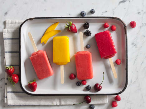 Fruity Gelato Ice Pops