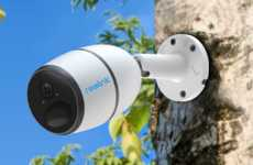 Wireless LTE Security Cameras - The Reolink Go Incorporates a Completely Wire-Free Design
