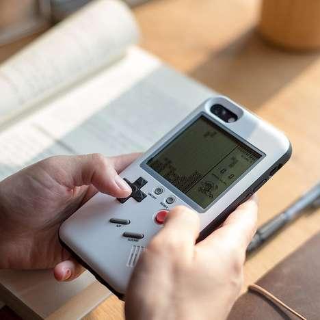 Retro Console Smartphone Cases