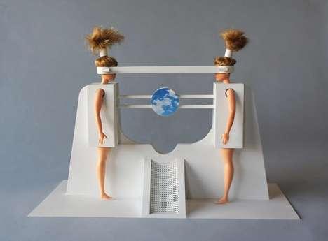 Women-Centric Tech Sculptures